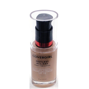 CoverGirl Outlast Stay Fabulous Liquid Foundation - Select Shade (1.0 fl. oz.) 3-in-1 Foundation with SPF 20