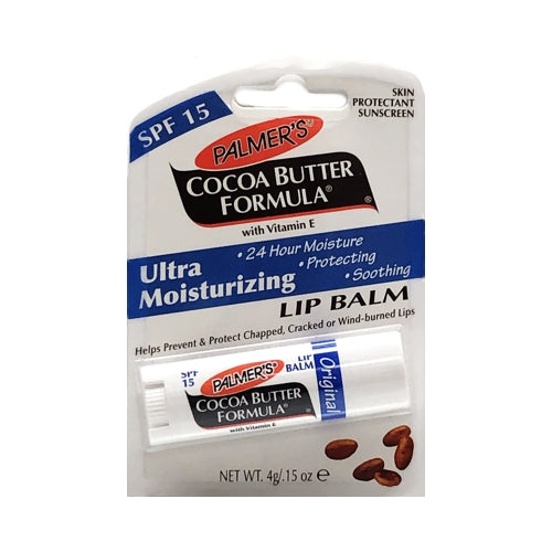 Palmer's Cocoa Butter Lip Balm with SPF15  (Net wt. 0.15 oz.) Mad with Natural Vitamin E