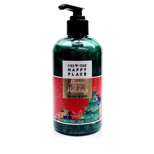 Home for The Holidays Liquid Hand Soap - Nutmeg and Sweet Cream (9.5 fl oz.)