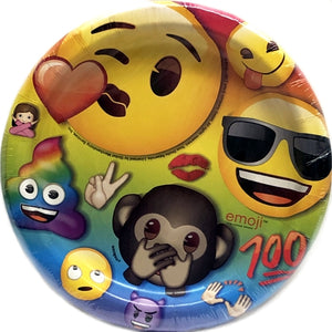 "Iconic Emoji 6.75"" Dessert Party Plates (8 count)"