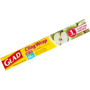 Plastic Cling Wrap (60 Sq. Ft.) The #1 Clear Food Wrap