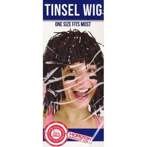 Create Out Loud! One Size Fits Most Tinsel Wig (Select Color) with Free Local Delivery in Champaign & Vermilion County IL.