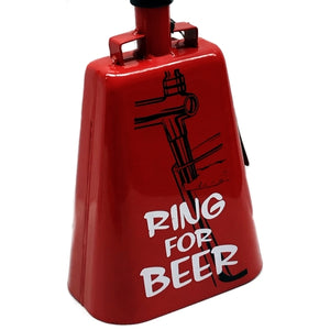 Hear Ye! Ring For Beer Cow Bell (Red)