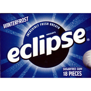 Eclipse Winterfrost Sugar Free Gum (18 Pieces)