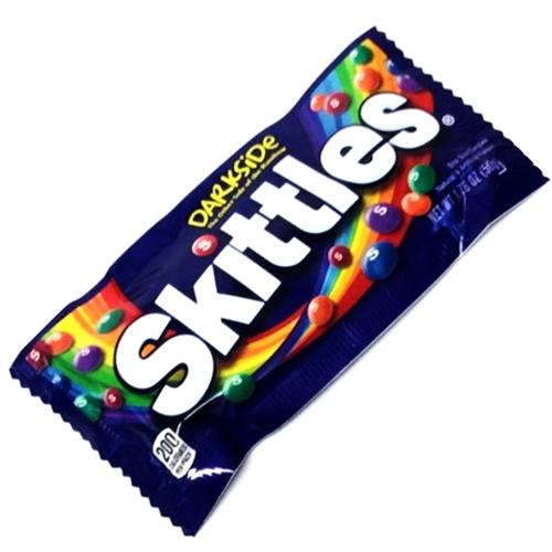 Skittles Dark Side Bite Size Candies (Net Wt. 1.76 oz.) with Free Local Delivery in Champaign & Vermilion County IL.