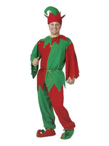 Christmas Jingle Elf Adult Costume Halloween Costume