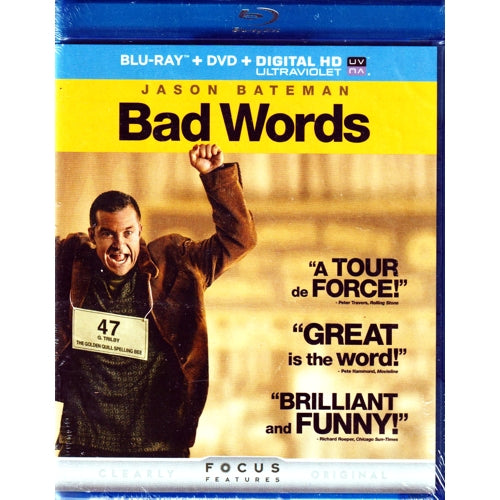 Bad Words (Blu-Ray Disc + DVD + Digital HD Combo)