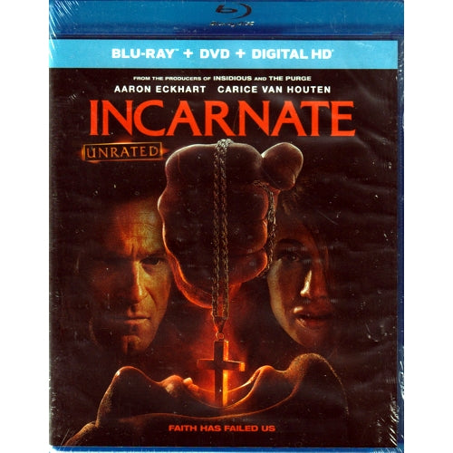 Incarnate - Unrated (Blu-Ray + DVD + Digital HD Combo Pack)