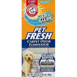 Arm & Hammer Carpet Odor Eliminator Powder - Pet Fresh Scent (Net Wt. 16.3 oz.)