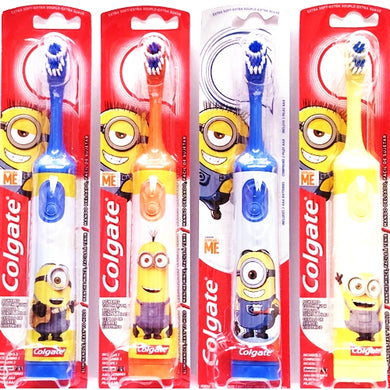 Colgate Kids Novelty Battery Powered Toothbrush (Select Design) Includes 2 AAA Batteries