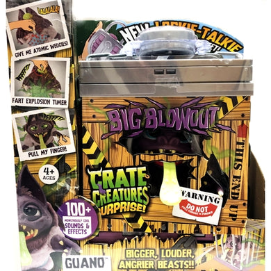 Guano Crate Creatures Surprise with Lockie-Talkie (100+ Sounds & Effects)