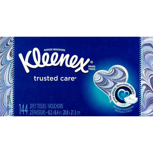 Kleenex Trusted Care Everyday 2-Ply Facial Tissues (144 Count)