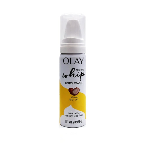 Olay Foaming Whip Shea Butter Body Wash (2 oz.)