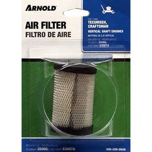 Air Filter Replacement for Vertical Shaft Engines - Tecumseh, Craftman (35066/63087A)