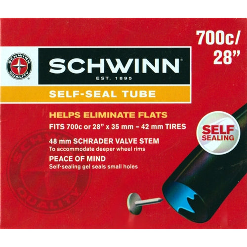 Schwinn Self-Sealing Tube (Fits 700c or 28