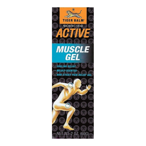 Tiger Balm Active Muscle Gel (Net wt. 2 oz.) Cooling Relief