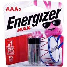 Energizer Max AAA Alkaline Batteries (2 Pack) #1 Longest Lasting Battery