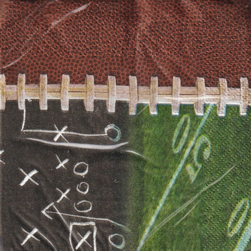 Gridiron Football 2-Ply Party Napkins (16 Count)