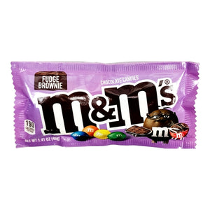 M & M's Fudge Brownie Chocolate Candies (Net Wt. 1.41 oz.)