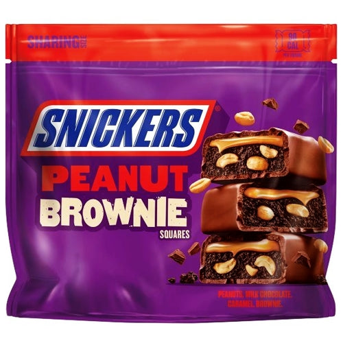 Snickers Peanut Brownie Squares (6.61 oz.)