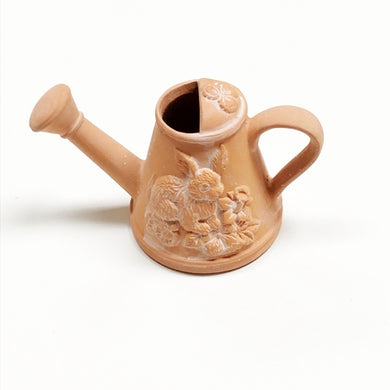 Bunny Rabbit Watering Can - Aromatherapy Terracotta Collectible Essential Oil Diffuser with Free Local Delivery in Champaign & Vermilion County IL.