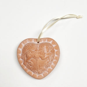 Carousel Horse Heart - Aromatherapy Terracotta Collectible Essential Oil Diffuser with Free Local Delivery in Champaign & Vermilion County IL.