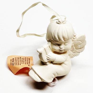 Aromatherapy Terracotta Collectible Essential Oil Diffuser - Angel Holding Harp