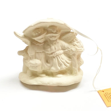 Aromatherapy Terracotta Collectible Essential Oil Diffuser - Angels Under Umbrella