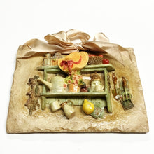 "Vintage Style Country Kitchen 3D Ceramic Art Decor Plaque - Gift Boxed (5"" x 7"") on Sale up to 80% Off at 5to99.com Daily Deals Dollar Store."