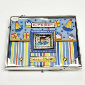 "Happy Birthday 4"" x 6"" Mini Photo Album Gift Boxed (Holds 24 Pictures) with Free Local Delivery in Champaign & Vermilion County IL."