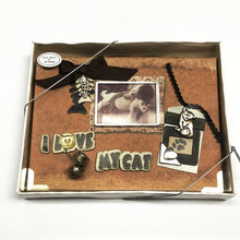 "I Love My Cat 4"" x 6"" Mini Photo Album Gift Boxed (Holds 24 Pictures) with Free Local Delivery in Champaign & Vermilion County IL."