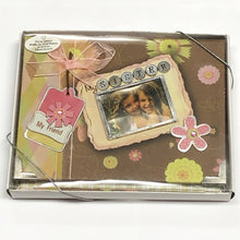 "My Sister, My Friend 4"" x 6"" Mini Photo Album Gift Boxed (Holds 24 Pictures) with Free Local Delivery in Champaign & Vermilion County IL."