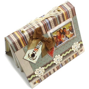 "Cousins 4"" x 6"" Mini Photo Album Gift Boxed (Holds 24 Pictures)"