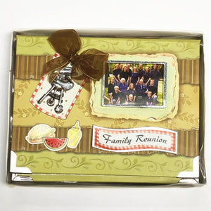 "Family Reunion 4"" x 6"" Mini Photo Album Gift Boxed (Holds 24 Pictures) with Free Local Delivery in Champaign & Vermilion County IL."