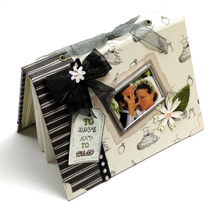 "Wedding To Have and To Hold 4"" x 6"" Mini Photo Album Gift Boxed (Holds 24 Pictures)"