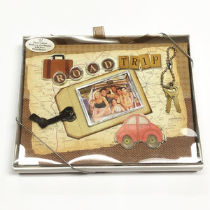 "Road Trip 4"" x 6"" Mini Photo Album Gift Boxed (Holds 24 Pictures) with Free Local Delivery in Champaign & Vermilion County IL."