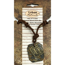 Urban Naturals Metal & Nature Stone Letter Necklace (Select Letter) on Sale up to 80% Off at 5to99.com Daily Deals Dollar Store.