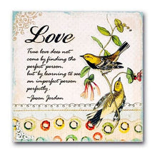 "True Love Handcrafted Decorative Wood Plaque Gift Boxed (8"" x 8"") on Sale up to 80% Off at 5to99.com Daily Deals Dollar Store."