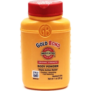 Gold Bond Medicated Body Powder - Original Strength (Net wt. 1 oz.) Travel Size