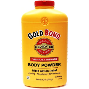 Gold Bond Medicated Body Powder - Original Strength (Net wt. 10 oz.) Triple Action Relief
