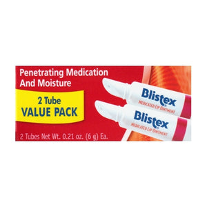 Blistex Medicated Lip Ointment Tube (2 Pack)