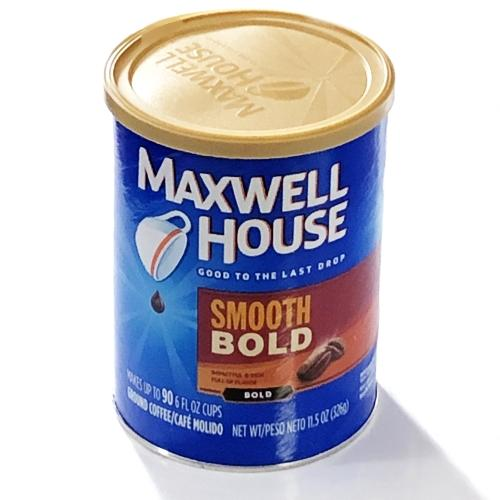 Maxwell House Smooth Bold Roast Ground Coffee (Net Wt. 11.5 oz.) Makes up to 90 Cups