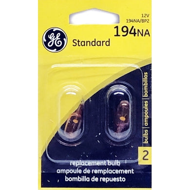 Standard 194NA/BP2 Turn Signal Replacement Bulbs (2 Pack)