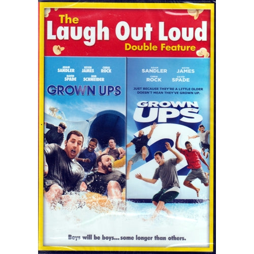 Grown Ups & Grown Ups 2 - Laugh Out Loud Double Feature (Comedy DVD)