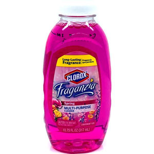 Clorox Fraganzia Multi-Purpose Cleaner - Spring Scent (10.75 fl. oz.) Makes Over 2 Gallons