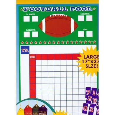 Football Pool Party Game Kit (Large 17