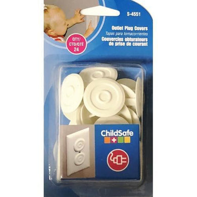 Child Safe Outlet Plug Covers S-4551 (24 Count) with Free Local Delivery in Champaign & Vermilion County IL.