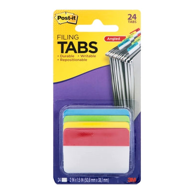 Post-it Angled Hanging Filing Tabs (24 Pack)