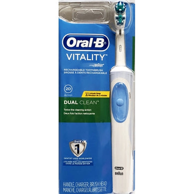 Oral-B Vitality Dual Clean Rechargeable Toothbrush Kit