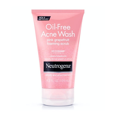 Neutrogena Oil-Free Acne Wash Foaming Scrub - Pink Grapefruit (4.2 fl. oz.)